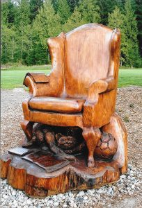Jesse's Memorial Chair